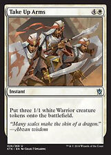Take Up Arms  NM  x4  Khans of Tarkir    MTG Magic White  Uncommon