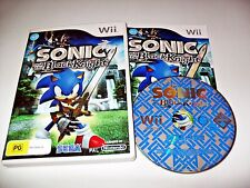 Sonic And The Black Knight Nintendo Wii Game Action Adventure