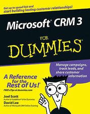 Microsoft Dynamics CRM 3 For Dummies by David Lee Kuo Cheun, Joel Scott (Paperb…