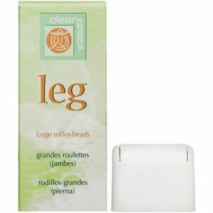 Clean + Easy Leg Large Roller Heads for Waxing & Hair Removal - Pack of 3