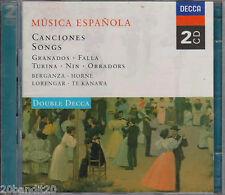 2 CD's MUSICA ESPANOLA CANCIONES SONGS TE KANAWA 1998 DECCA 028943391726