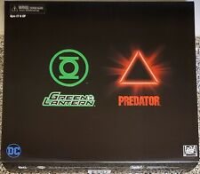NECA GREEN LANTERN VS PREDATOR, NYCC 2019 EXCLUSIVE, 2 PACK COMBO (BRAND NEW)