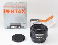 Excellent+++++ Pentax SMC Pentax FA 50mm f1.7 AF Lens Boxed From Japan