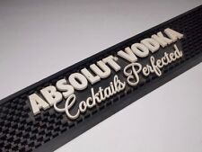 Absolut Vodka Bar Rail Mat Barware