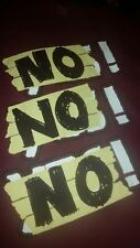 Daniel Bryan No! No! No! T Shirt Stop It! Small WWE ROH nxt Team Hell No Yes!