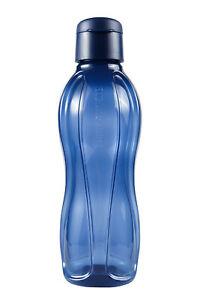 Tupperware Trinkflasche 1l Eco Easy  dunkelblau NEU
