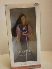 BARBIE MATTEL Doll SCORPIO October 24-November 21 Barbie Collector MINT
