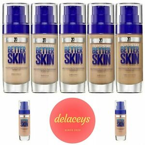 MAYBELLINE SUPERSTAY Better Skin Foundation (SPF 20) - ALL DAY, FULL COVERAGE