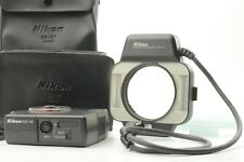 [ MINT w/ Case ] Nikon Macro Speed Light Flash SB-21 +  AS-14 from JAPAN