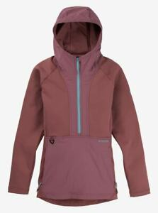 Burton Multipath Fleece Pullover - Small - Rose Brown - Women's