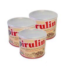 Pirulin 300g 3 Cans Chocolate Hazzelnuts Filled Cones | 3 Latas de Pirulin