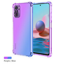 For Google Pixel 4XL 4A 5A 5G 5XL Gradient Silicone Slim Soft TPU Back Case Skin
