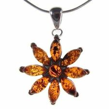"Handmade Natural Amber 18 - 19.99"" Fine Necklaces & Pendants"