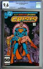 CRISIS ON INFINITE EARTHS #7 CGC 9.6 WHITE PAGES