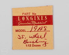 Longines Genuine Material S.S. Wheel Bushing with Jewel for 19AS