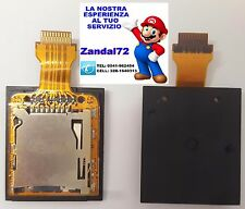 LETTORE MICRO SD NINTENDO NEW 3DS XL SLOT CARD READER NEW 3DSXL SOCKET + PCB