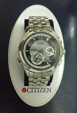 citizen G900/9000 st-steel ecodrive tourbillon calendar perpetual 1GMT