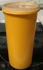 """Tupperware  Yellow Juice Canister with Pour Seal Lid 8 1/2""""  #261-15"""