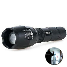 Zoomable 3800Lm Lumens LED Flashlight Hand Torch XML T6 Hiking Camping Light I