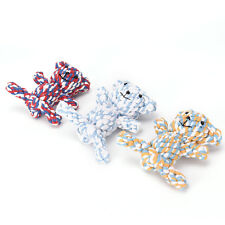 1pc x pet dog durable bear knot for small and large dogs trainging chew toys  ZT