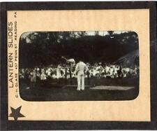 MAGIC LANTERN SLIDE GYMNASTICS MEET/COMPETITION PHOTOGRAPH*PARALLEL BARS*