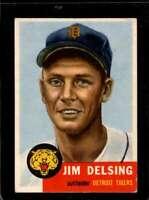 1953 TOPPS #239 JIM DELSING VG+ TIGERS  *X00198