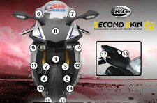 R&G Second Skin Yamaha YZF R1M 2015 - 2018 Stone Chip Paint Protection Guard Set
