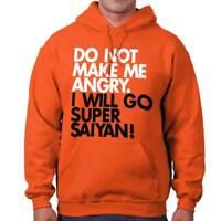 Make Me Angry Gym Workout Goku Anime Gift Hoodies Sweat Shirts Sweatshirts