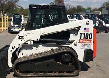 Bobcat skidsteer T180 track loader decal kit