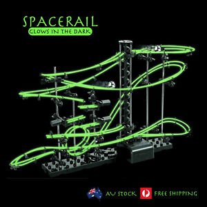 Spacerail Marble Run Toys Race Track Games Battery Operated Glows In  Dark DIY