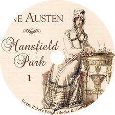 Mansfield Park by Jane Austen Classic Audiobook unabridged Fiction on 1 MP3 CD