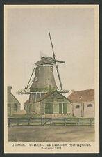 Zaandam  Westzijde  De Eikenboom Houtzaagmolen, Gesloopt 1883