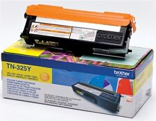 Brother TN-325Y (rendement : 3,500 pages) CARTOUCHE TONER JAUNE
