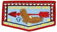 Timuquan Lodge 340 Red Border ZS-1 Flap 45th West Central Florida Council Patch