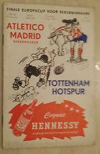 1963 European Cup Winners Cup Final- TOTTENHAM HOTSPUR v ATLETICO MADRID