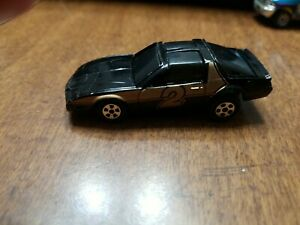 Ertl Replica Diecast 1:64 Black Pontiac Firebird Car USA Friction