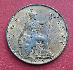Victoria 1899 Penny - Top grade