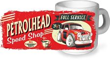 Koolart Retro Petrolhead Speed Laden Keramiktasse & Klassisch Mini Cooper