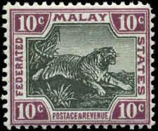 Malaya Scott #31b Mint  Chalky Paper