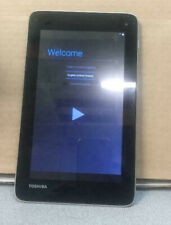 "TOSHIBA  AT7-C 8GB SILVER 7"" WIFI TABLET IN GOOD WORKING CONDITION"