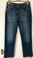 NEW  £515 designer authentic Brunello Cucinelli blue regular fit jeans It42 UK12
