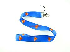 10 pcs superman Neck Strap Lanyard Keychain Phone Card Badge Holder L243