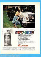QUATTROR965-PUBBLICITA'/ADVERTISING-1965- DUPLI-COLOR  AUTO SPRAY