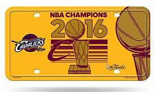 Cleveland Cavaliers 2016 Champions Metal License Plate Tag NBA Basketball