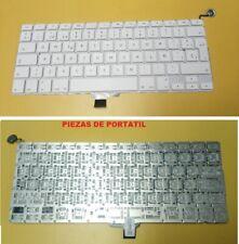 """Teclado Apple Macbook 13"""" A1342 blanco       0210012"""