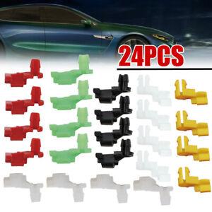 For Honda Toyota Car Plastic Rivet Door Lock Rod Clip 5mm Rod Size Car Push Clip