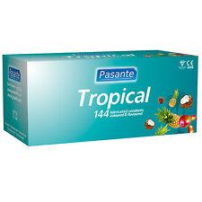 Preservativi Profilattici Tropical Pasante Cocco Ananas Mango 144 pz + Durex