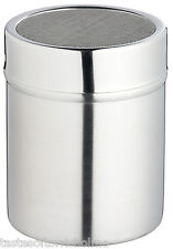 Kitchen Craft Stainless Steel Icing Sugar / Flour Sifter Shaker Dredger - Fine