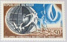 NIGER 1968 181 205 Intl. Human Rights Year Menschenrechte Statue of Liberty MNH