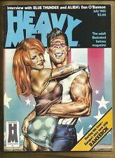 Heavy Metal Magazine July 1983 VFN- Starstruck Kaluta mag Classic cover